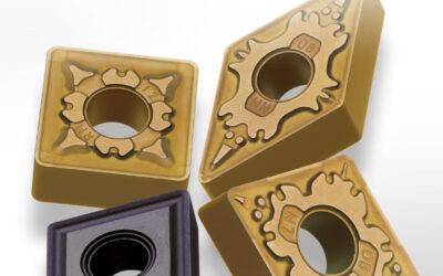 Новите пластини от серии 7000 за стругова обработка на неръждаема стомана