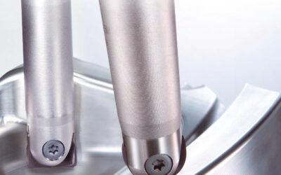 SRF – Високо прецизни фрезери със сменяеми пластини за финишна обработка.